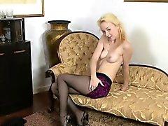 Teasing Blonde Babe Ella