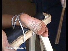 Крайняя фут фетиш и ножки иглой садо зрелых любителя