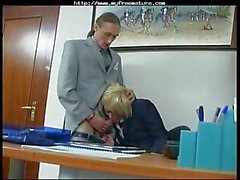 Mature Secretary Getting Fucked