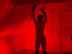 WHIPPED IN THE RED ROOM - crying teen bound and flogged