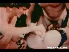 Retro Homosexuell Einschübe und Fisting