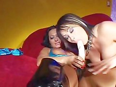 GIRLS SODOMIZING GIRLS 2 - Scene 3