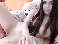 Girl Doing Her Webcam Sexshow