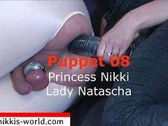 Princess Nikki rakastaa asiaa Femdom , jalkojen , arse palvonta , Cuckold