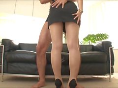 Clothed pantyhosed doggy.mp4