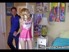 Teen Cheerleaders Dad's Agree To Swap Daughters