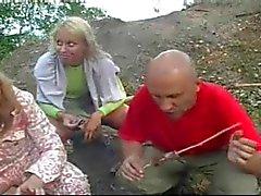 Real russisch neuken op het strand Costa Blanca