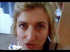 Amatoriale casalinga bionda britannico
