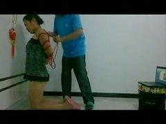 Chinese bondage home video