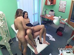 Hospital orgy with doctor and nurse