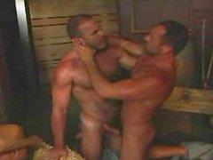 bir Farmboy iki Kovboylar