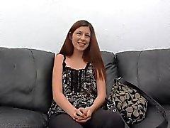 Adolescente linda de Miranda sesión fundición caliente