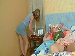 Delicate Young Girl Gets Pounded In Ass
