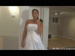 Bride Tiffany nasty face sitting