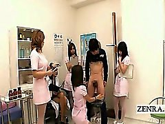 Dem Untertitel CFNM Hand Blowjob Japanese Pflegepersonal Maßnahme