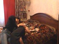 Turkey guy fuck Russian redhead MILF hidden cam