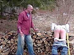 Hot daddy spank haar vriendje ( 6 clips )