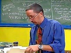 Horny Professor Levels Young Sch