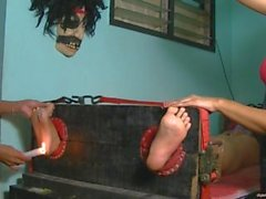 Asian Foot and Tickle Torture