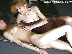 Very skinny lesbians