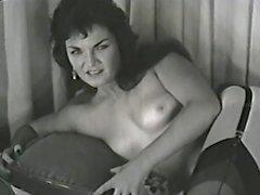 Del softcore Desnudos seiscientas dieciséis de 50 y los años 60 - Scene una
