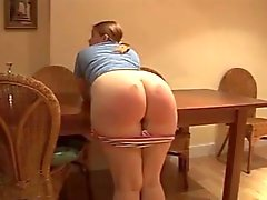Chubby Babe With Sexy Ass Spanked Hard