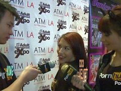PornhubTV Liv Aguilera Interview at 2014 AVN Awards