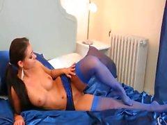 super sexy blackhair in my bedroom