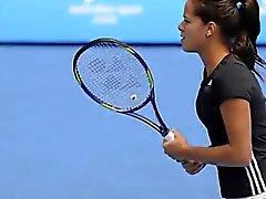 Ana Ivanovic caldo ! Sexy della parte On- da tennis Impressions 6 della 6