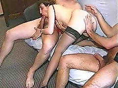 Francês Gang Bang Amateur Mature