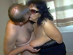 Sexy Granny-Bukkake