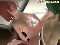 Hentaï - de tentacules Baisez 3D d'Emo de l'étudiante ! - 01