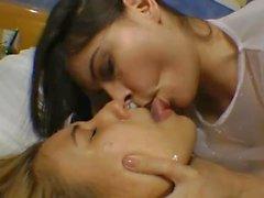 spit kissing