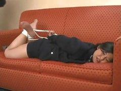 Tomiko Hogtie Tickled