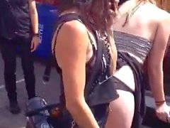 Amateur Humiliation and Punishment on University Streetfair