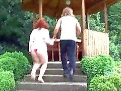 Naturali di Redhead Amatore con suocera Shlatzka scopa il Minore dell'uomo