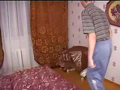Mature Babysitter Gets Horny