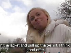 Girlfriends pick up straight girl flashing in public first time lesbian sex