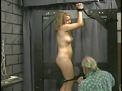 Joleen And Dungeon Slaves Spanking Sultry Submissives (Part 2)
