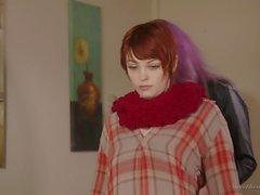 Lesbian MILF Alexis Fawx pussy licks big breasted redhead babe