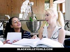 BlackValleyGirls - Ebony Teen Gets Pussy Plowed
