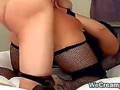 Dirty Chick Spanked And Creampied