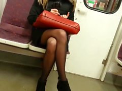 Candid Gorgeous Blonde