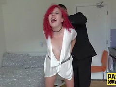 Real fetish babe sucking