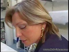 Mature boss and her employee_00