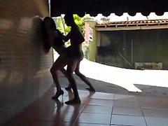 SIMATRA Shemalicious Fick auf Motel Favelas *