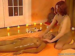 Hon Vill verkligen hon Massage
