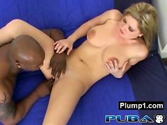Monster Beaver Alluring BBW Pressed And Penetrated
