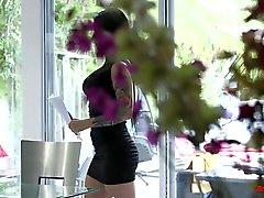 Katrina Jade Black Stud Action