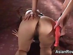 Asian Femdom And Her Cute Asian Slave